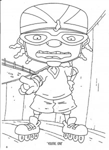 coloring page Rocket Power (68)