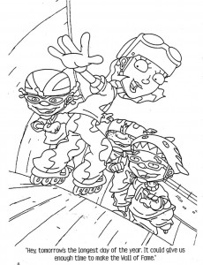 coloring page Rocket Power (69)