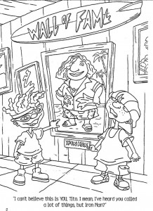 coloring page Rocket Power (71)