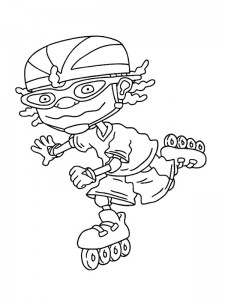 coloring page Rocket Power (8)