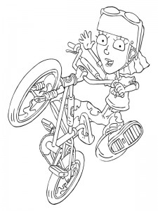 coloring page Rocket Power (9)