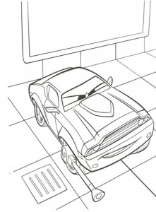 coloring page Rod Redline