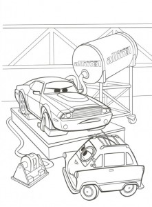 coloring page Rod Torque Redline and Zundapp