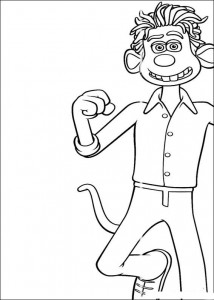 Roddy coloring page