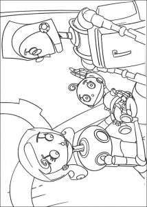 coloring page Rodney and Cappy (1)