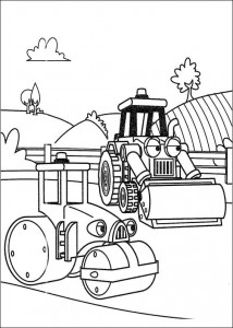 coloring page Rollie and Scoop