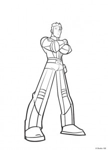 coloring page Rox (13)