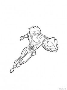 coloring page Rox (15)