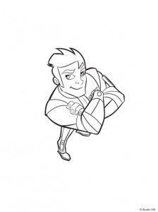 coloring page Rox (16)