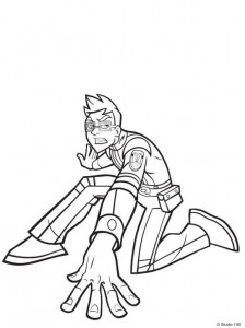 coloring page Rox (18)