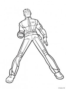coloring page Rox (19)