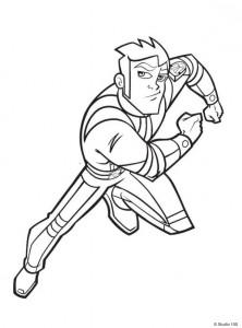 Dibujo para colorear Rox (2)