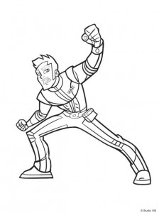 coloring page Rox (22)
