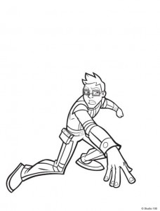 Dibujo para colorear Rox (25)