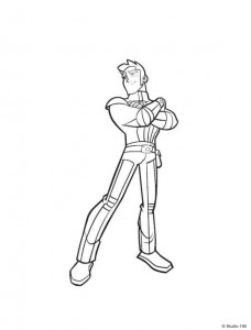 coloring page Rox (28)