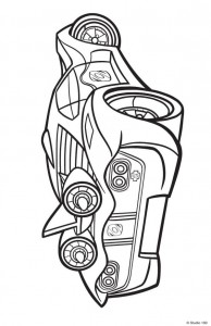 coloring page Rox (37)