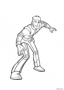 coloring page Rox (47)