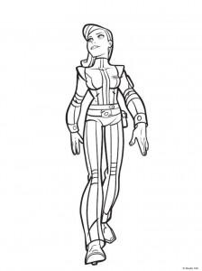 Dibujo para colorear Rox (5)