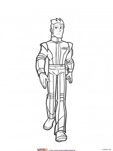 coloring page Rox (6)
