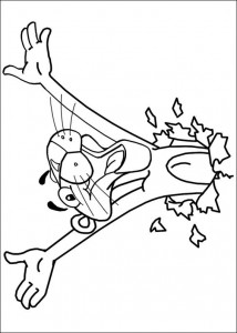 coloring page Pink panther (11)
