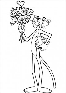 coloring page Pink panther (4)