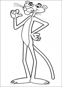 coloring page Pink panther (9)