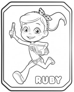 coloring page ruby ​​2