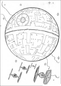 coloring page Spaceships