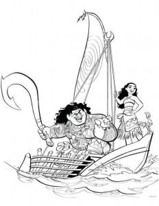 coloring page sailing 2