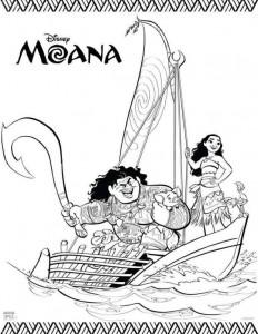 målarbok segling