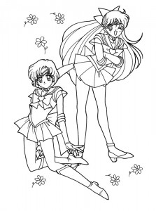 Malvorlage Sailor Moon (1)