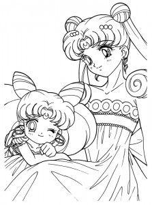 coloring page Sailor Moon (12)