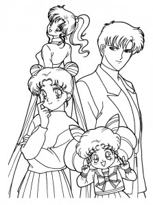 coloring page Sailor Moon (13)