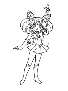 coloring page Sailor Moon (15)