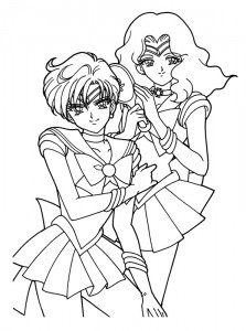 Malvorlage Sailor Moon (16)