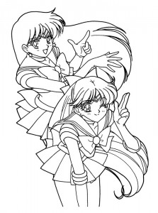 Malvorlage Sailor Moon (17)