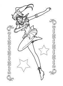 coloring page Sailor Moon (18)