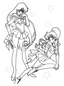 Malvorlage Sailor Moon (2)