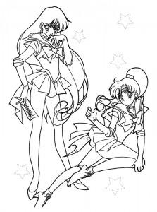 målarbok Sailor Moon (2)