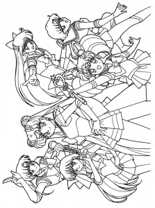 coloring page Sailor Moon (20)