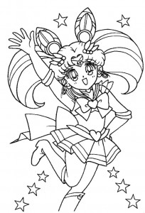 coloring page Sailor Moon (21)