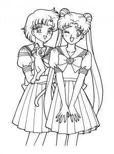 coloring page Sailor Moon (25)