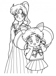 coloring page Sailor Moon (26)