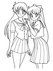 coloring page Sailor Moon (27)