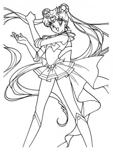 Malvorlage Sailor Moon (3)