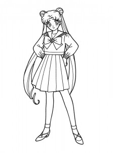 coloring page Sailor Moon (30)
