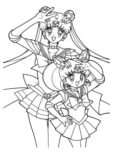 coloring page Sailor Moon (31)