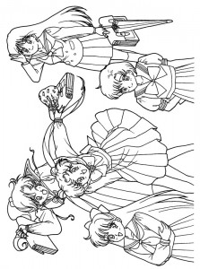 coloring page Sailor Moon (33)