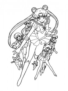coloring page Sailor Moon (34)