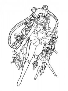 målarbok Sailor Moon (34)